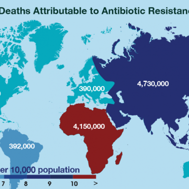 Forecast Deaths Attributable to Antibiotic Resistance