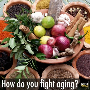 Fight Aging with Neem