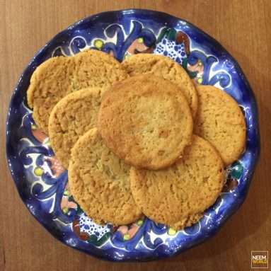 Baking with Neem – Neem Honey Ginger Cookies