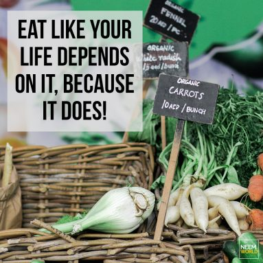 Eat Like Your Life Depends on it!